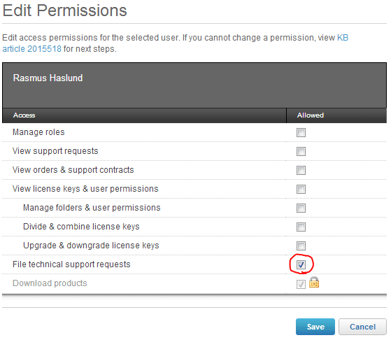 Delegate permissions on My VMware site - Perfect Cloud